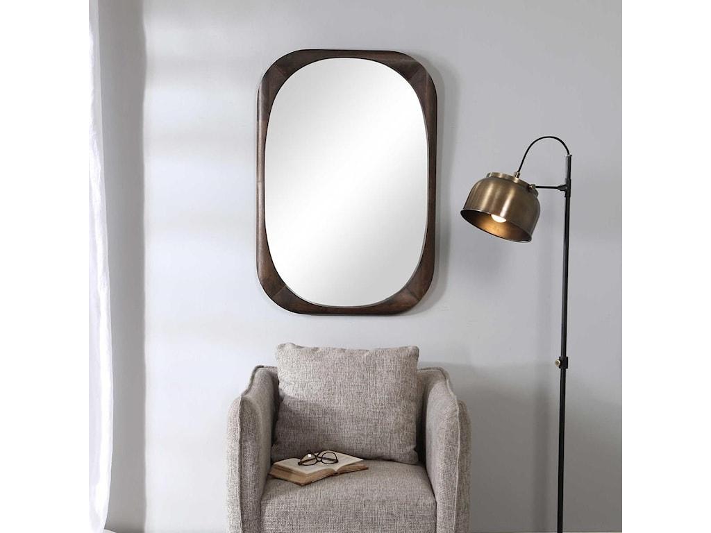 Uttermost MirrorsSheldon Mid-Century Mirror