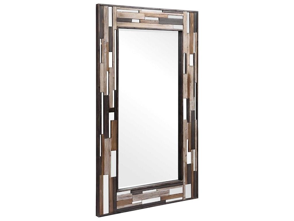 Uttermost MirrorsZevon Wooden Mirror