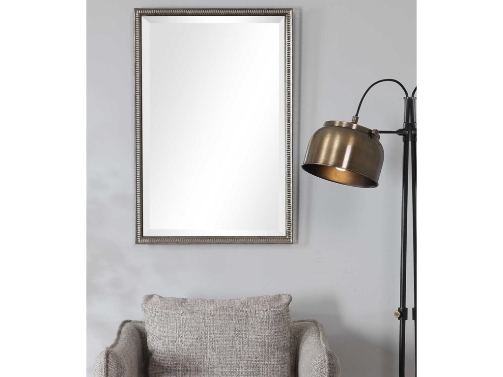 Uttermost MirrorsCharmian Silver Vanity Mirror