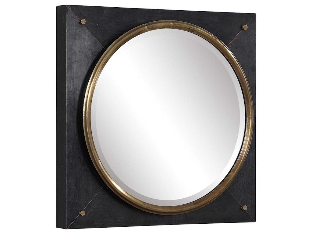 Uttermost MirrorsTobiah Modern Square Mirror