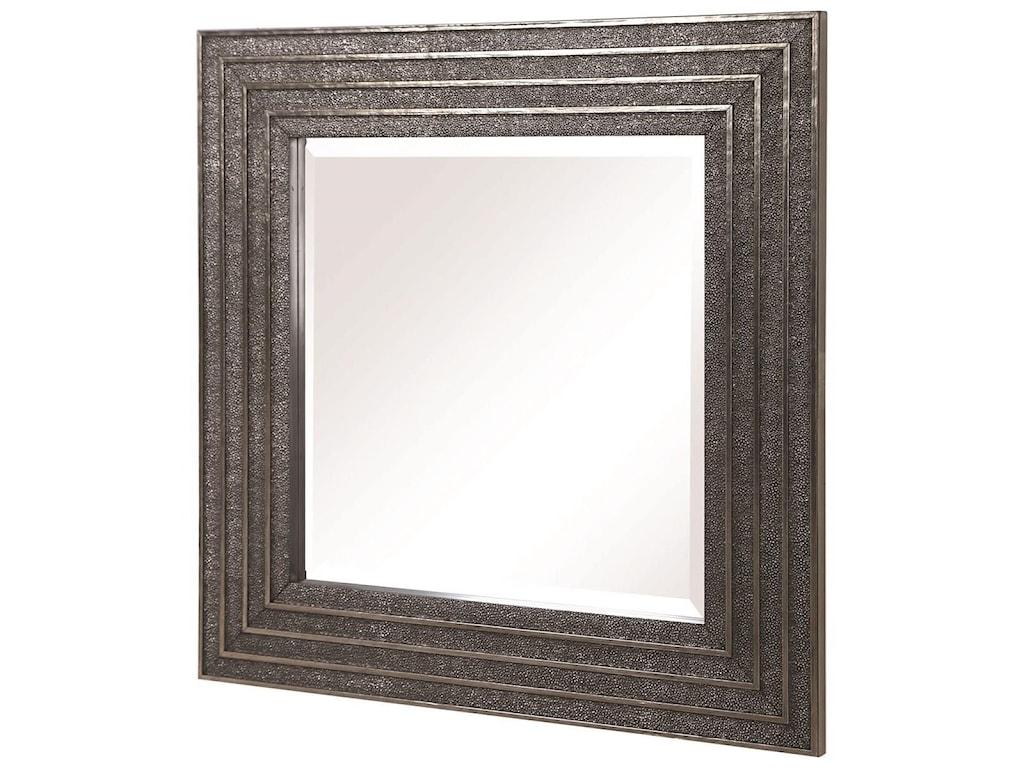 Uttermost MirrorsSondra Silver Square Mirror