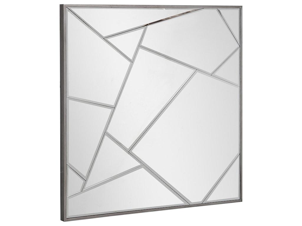 Uttermost MirrorsBeria Modern Square Mirror