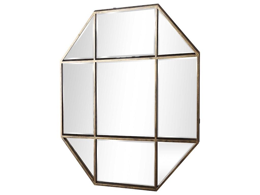 Uttermost MirrorsDaniella Octagon Mirror