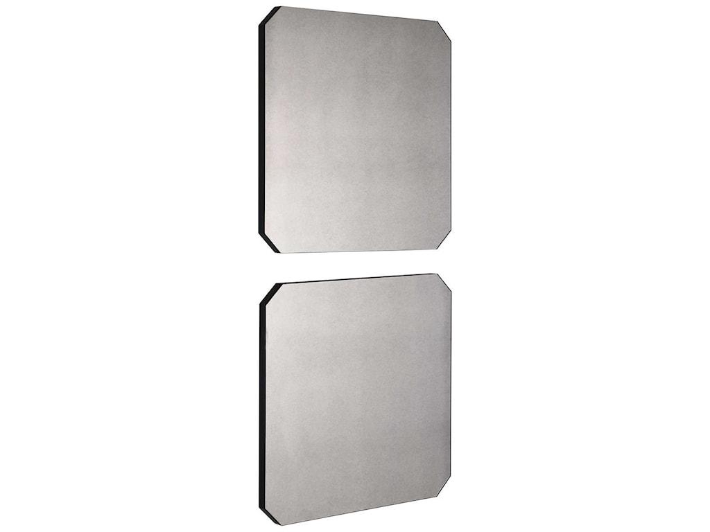 Uttermost MirrorsLange Square Mirrors, Set/2