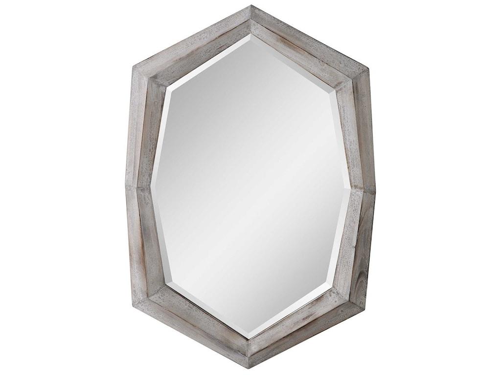 Uttermost MirrorsTurano Aged Ivory Mirror