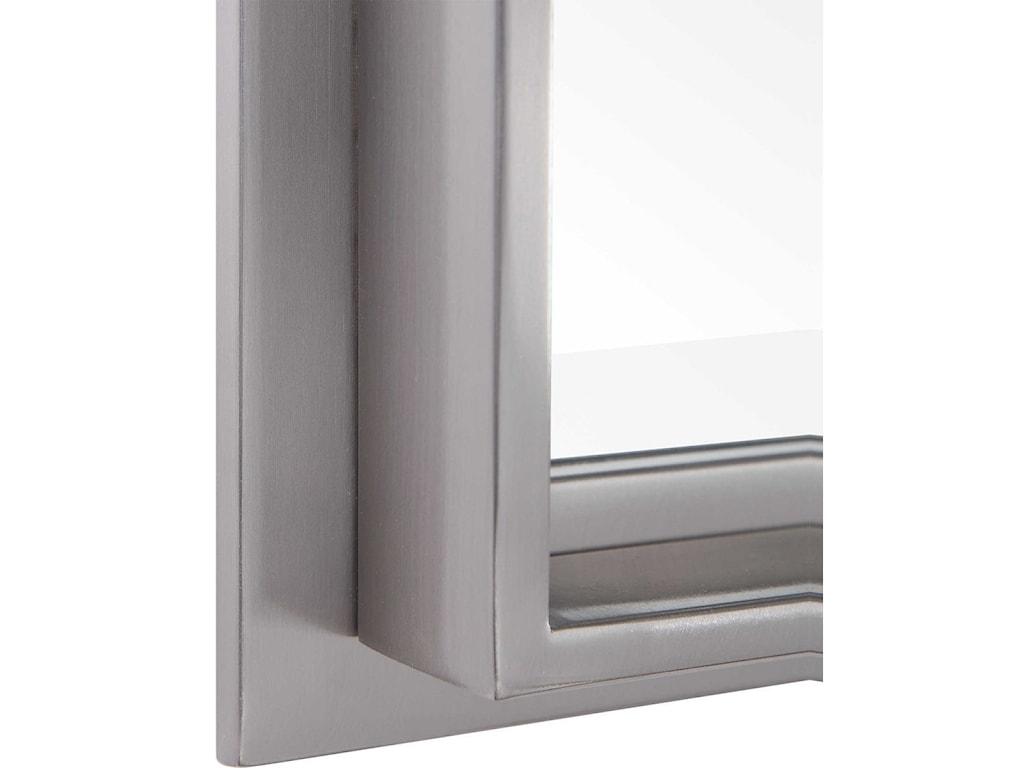 Uttermost MirrorsCosimo Silver Vanity Mirror