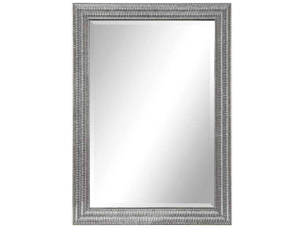 Uttermost MirrorsAlwin Silver Mirror