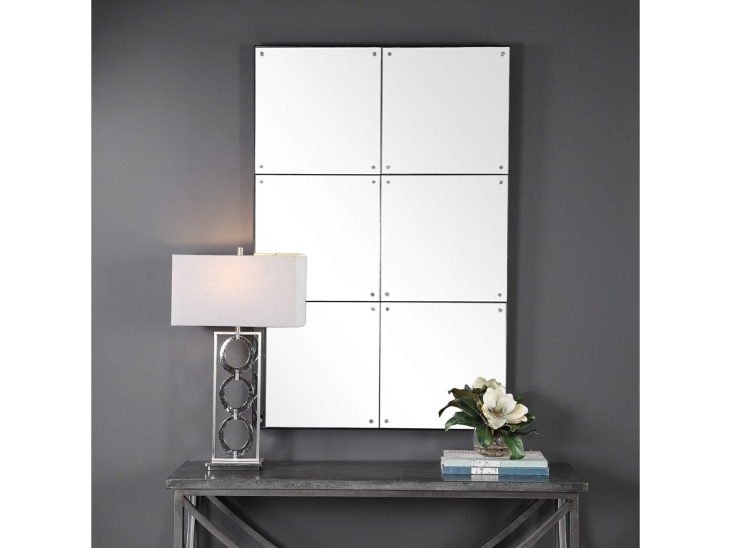 Uttermost MirrorsEldred Industrial Wall Mirror