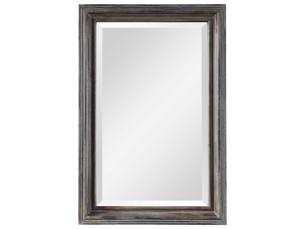 Uttermost MirrorsGulliver Distressed Blue Vanity Mirror
