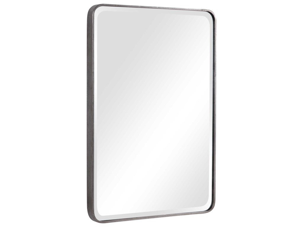 Uttermost MirrorsAramis Silver Mirror