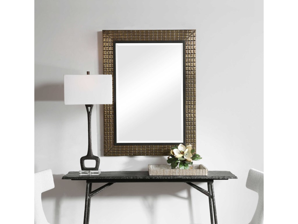 Uttermost MirrorsPalo Brass Mirror