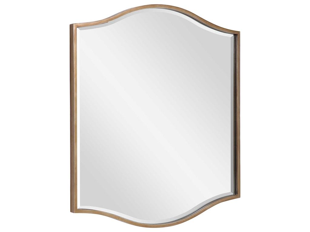 Uttermost MirrorsCerise Gold Mirror