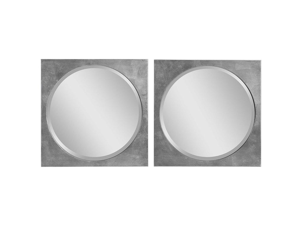 Uttermost MirrorsAletris Modern Square Mirrors, S/2