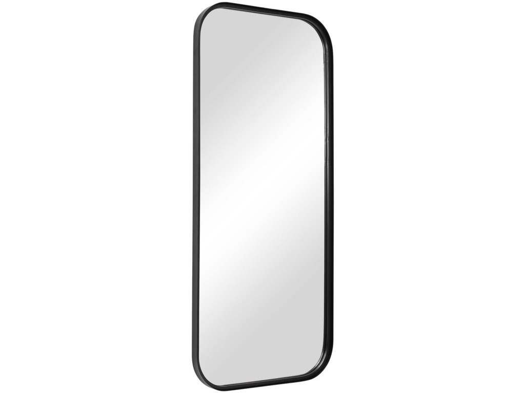 Uttermost MirrorsConcord Black Tall Iron Mirror