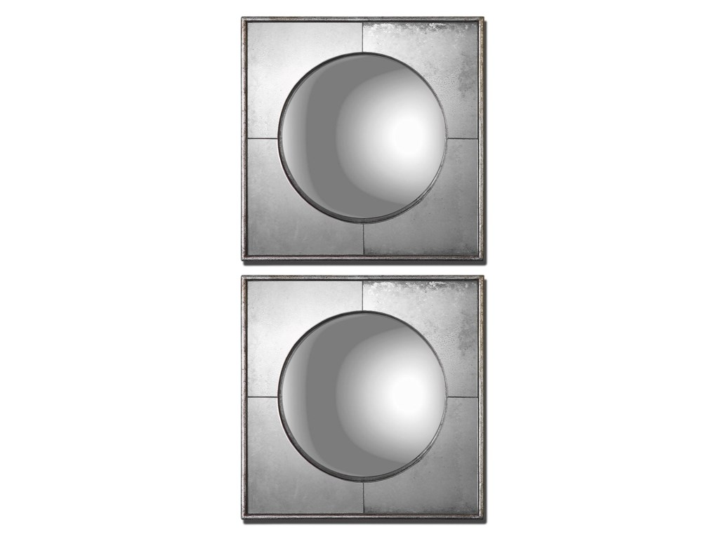 Uttermost MirrorsSavio Squares Set of 2