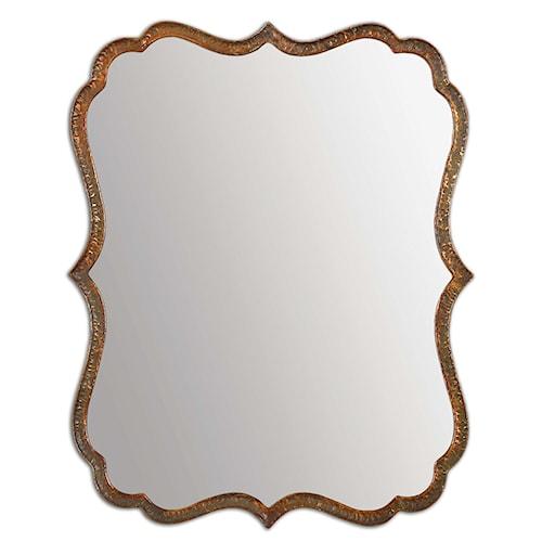 Uttermost Mirrors Spadola Copper Mirror