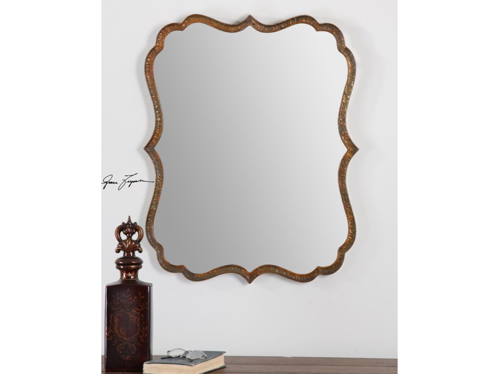 Uttermost MirrorsSpadola Copper Mirror