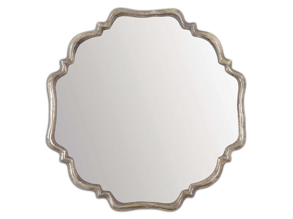 Uttermost MirrorsValentia Silver Mirror