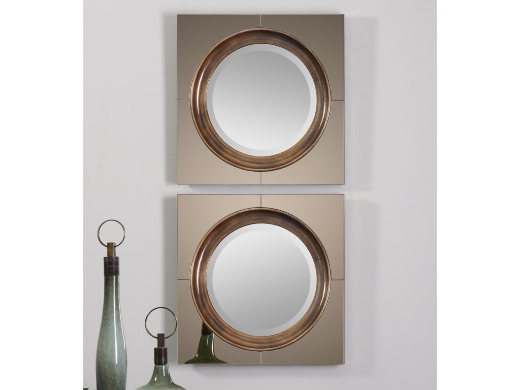 Uttermost MirrorsGouveia Comtemporary Mirror