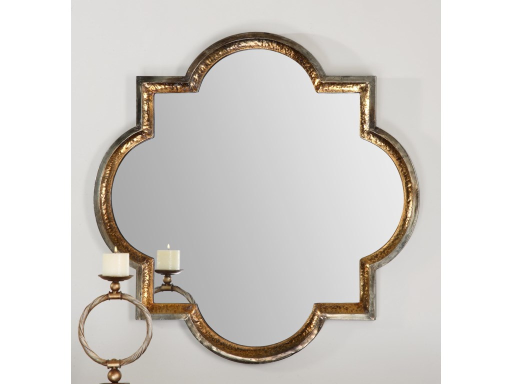 Uttermost MirrorsLourosa Gold Mirror