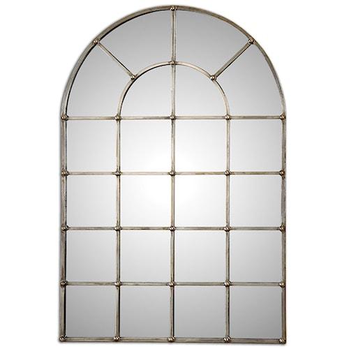 Uttermost Mirrors Barwell Arch Window Mirror