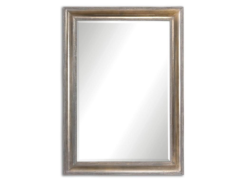 Uttermost MirrorsAvelina Oxidized Silver Mirror