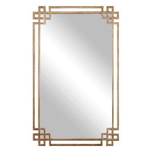 Uttermost Mirrors Devoll Antique Gold Mirror