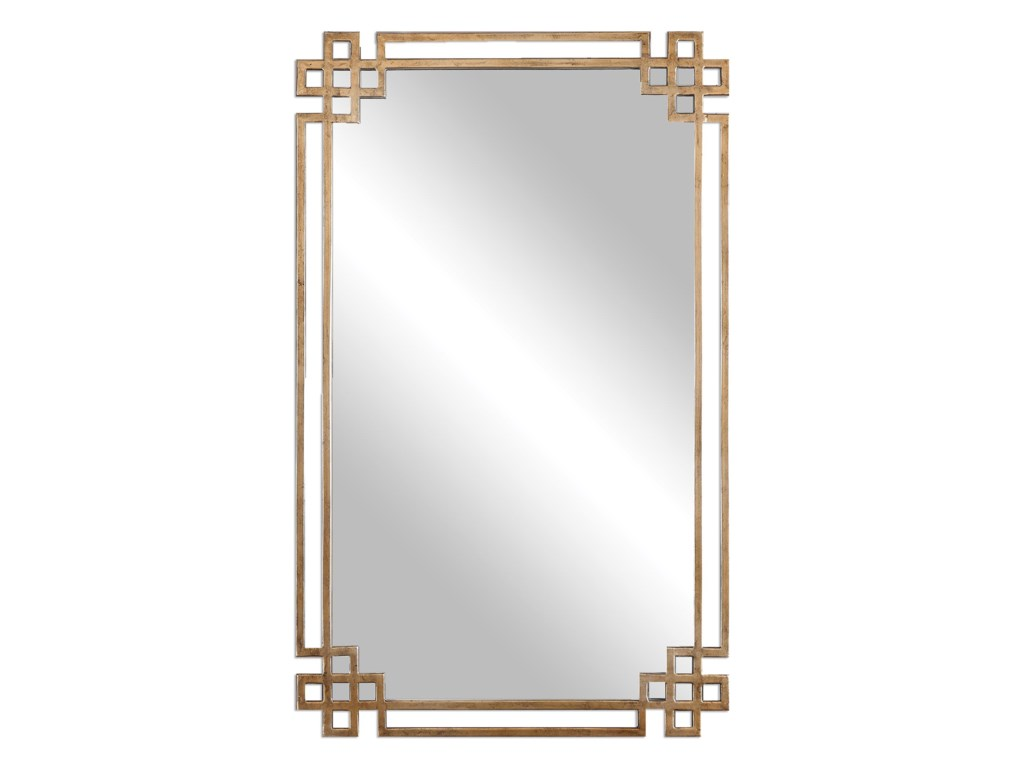 Uttermost MirrorsDevoll Antique Gold Mirror