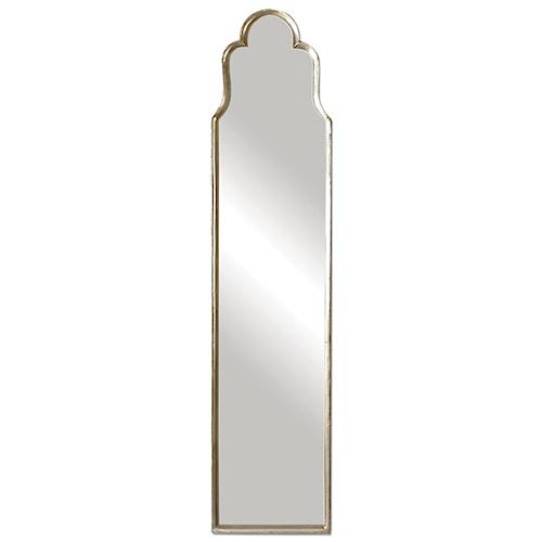 Uttermost Mirrors Cerano Arched Silver Mirror