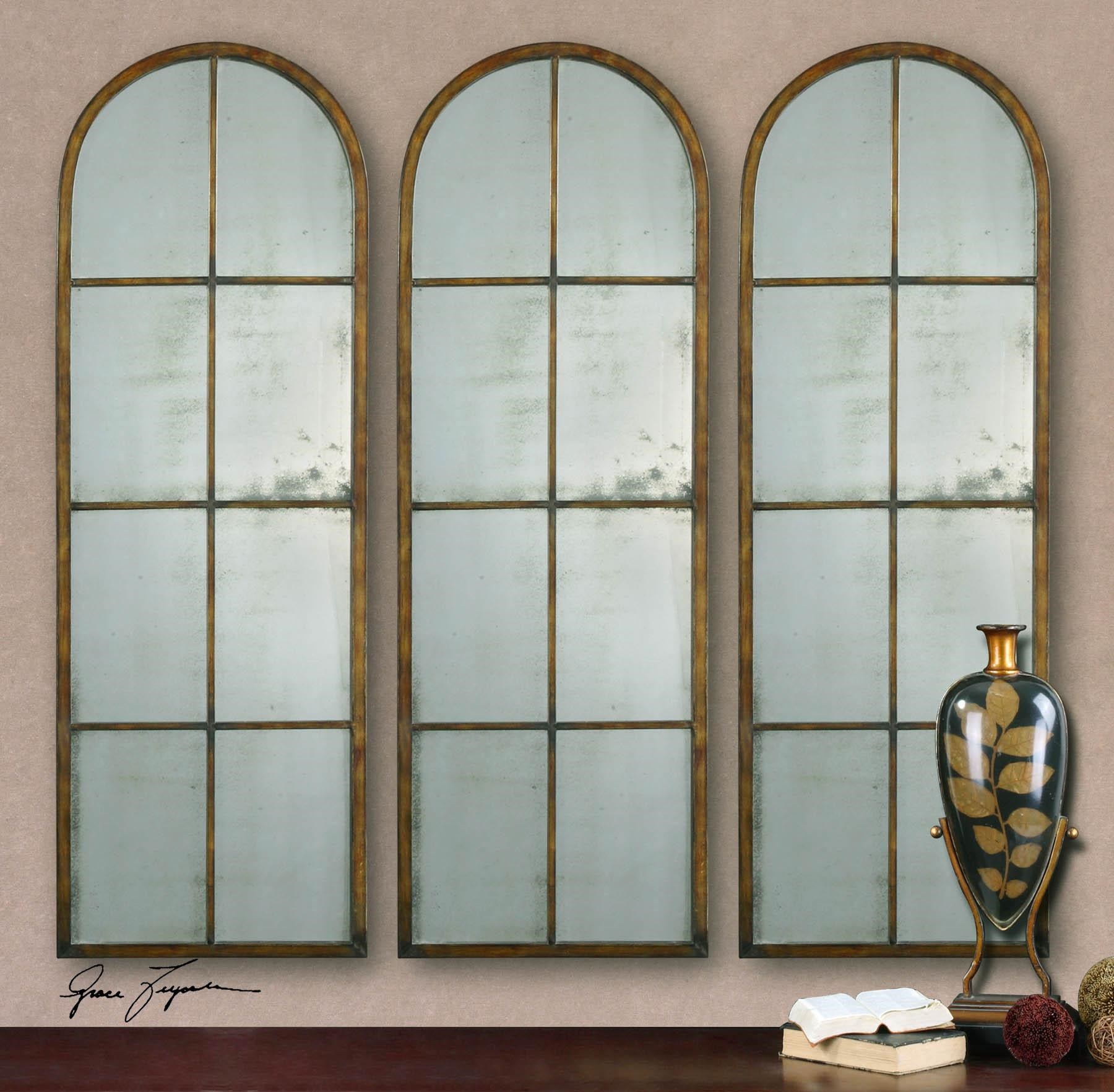 Uttermost Arched Mirrors Amiel Arch Wayside Furniture Wall Mirrors