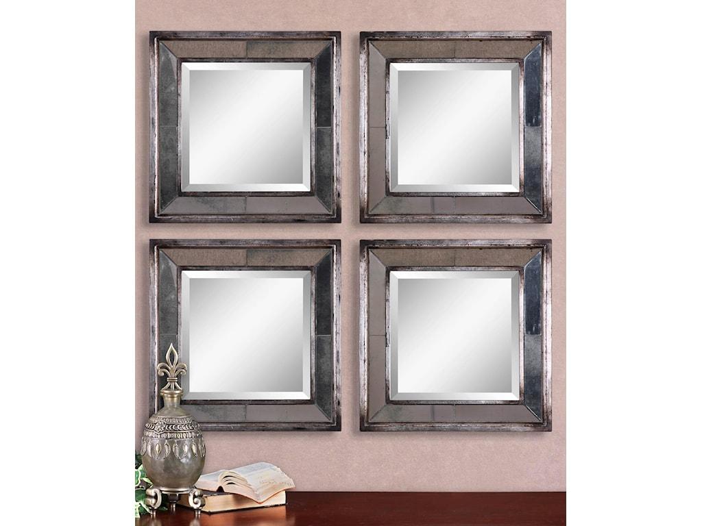 Uttermost MirrorsDavion Squares Set of 2