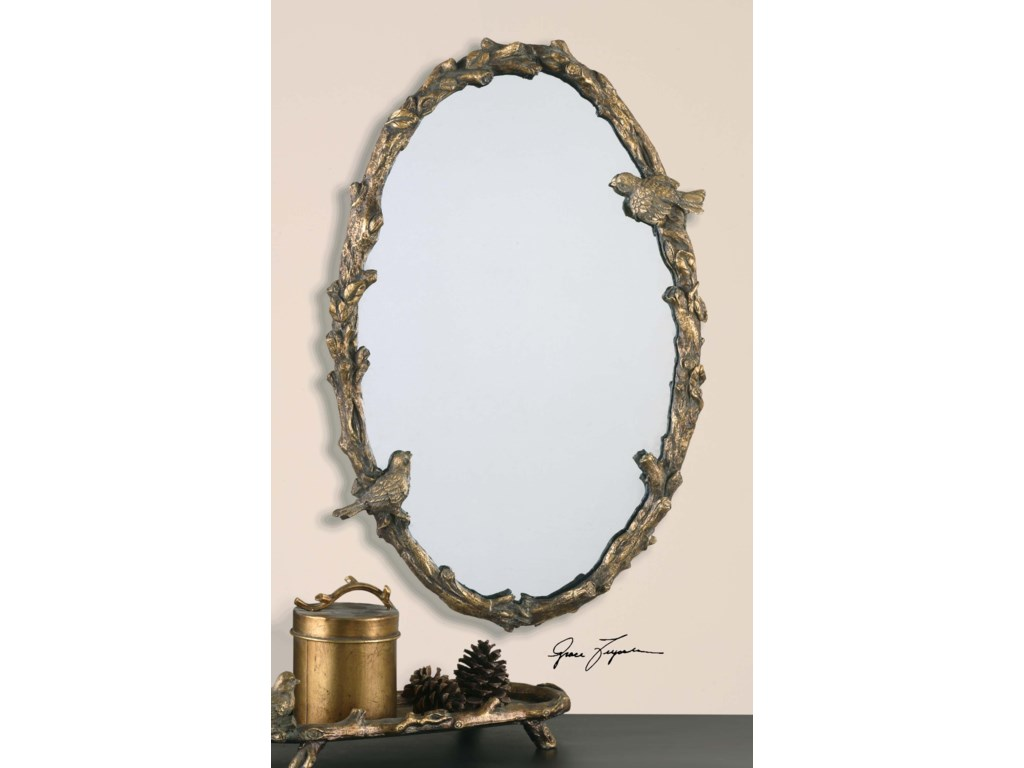 Uttermost Mirrors - OvalPaza Oval Mirror