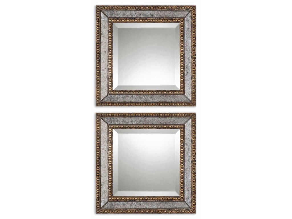 Uttermost MirrorsNorlina Squares Set of 2