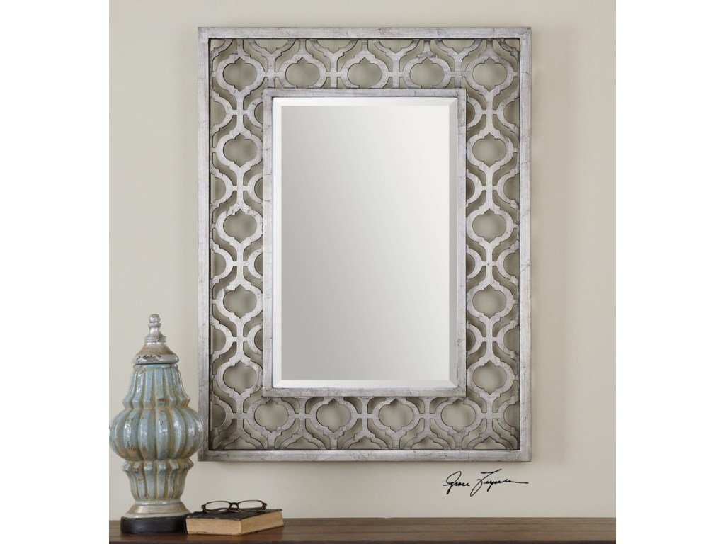 Uttermost MirrorsSorbolo Silver Mirror