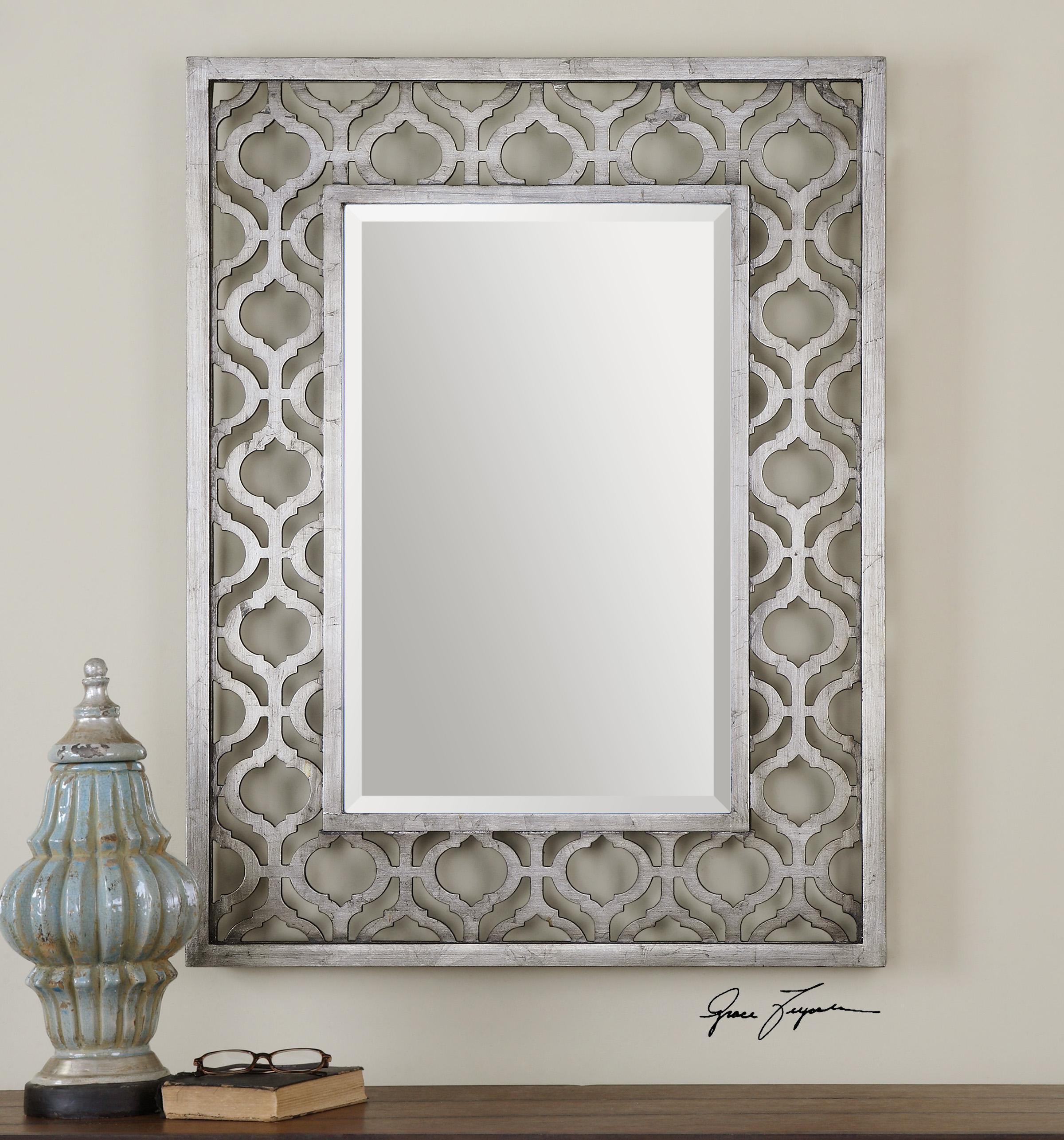 Uttermost MirrorsSorbolo Silver Mirror; Uttermost MirrorsSorbolo Silver  Mirror