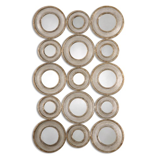 Uttermost Mirrors Vobbia Metal Circles Mirror