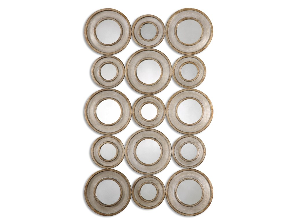 Uttermost MirrorsVobbia Metal Circles Mirror
