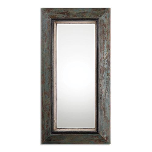 Uttermost Mirrors Bronwen Distressed Leaner Mirror