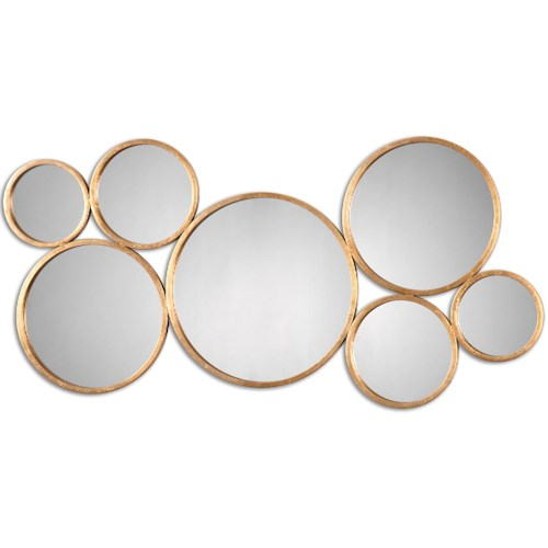 Uttermost Mirrors Kanna Gold Wall Mirror
