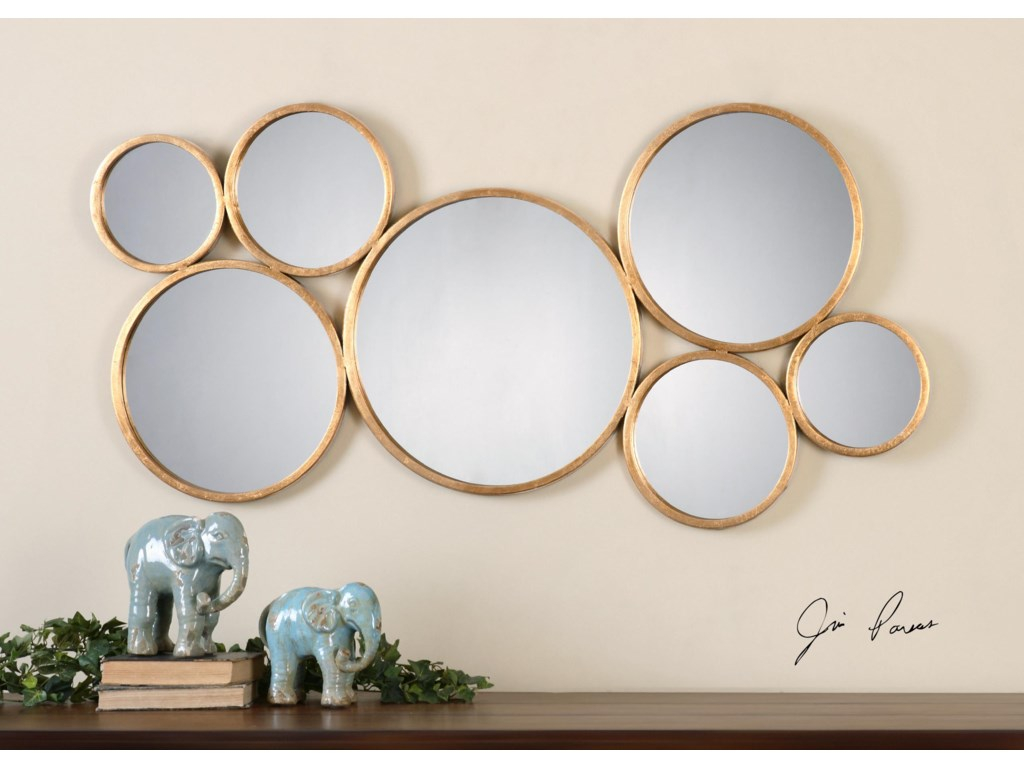 Uttermost MirrorsKanna Gold Wall Mirror