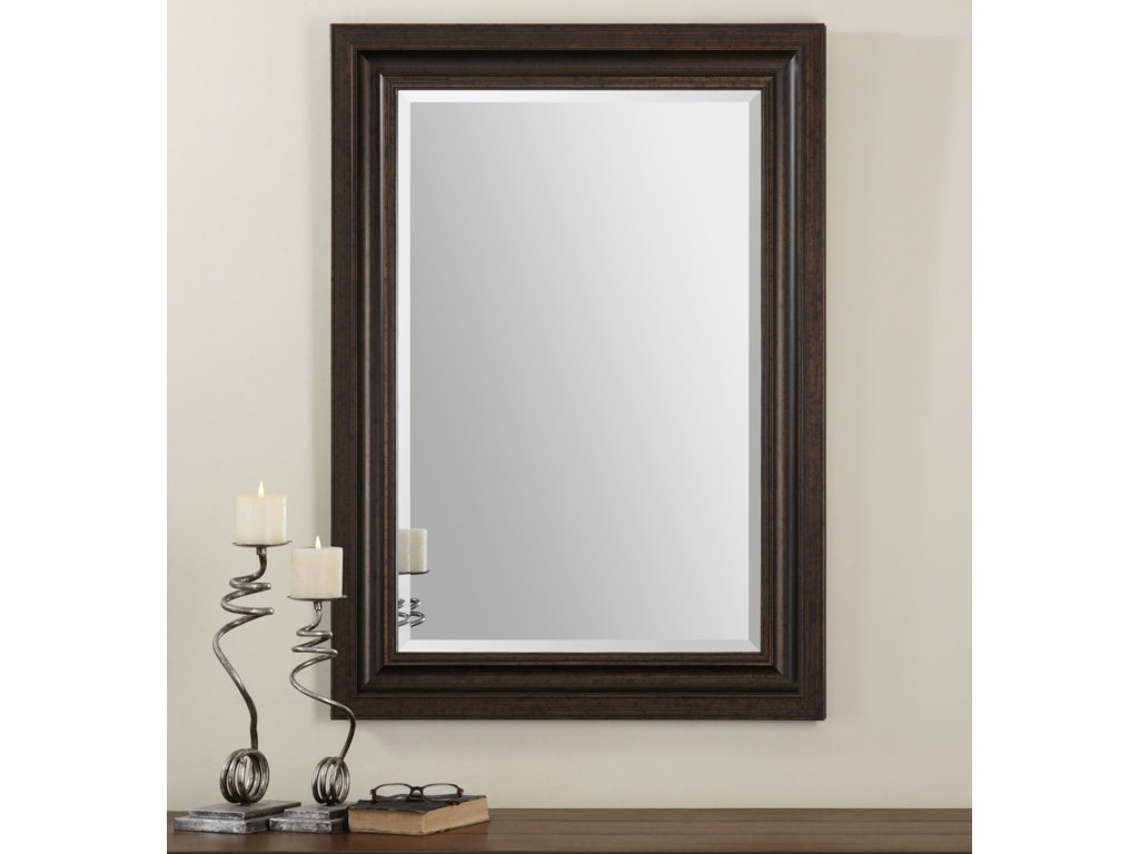 Uttermost MirrorsAdalwin Dark Bronze Mirror