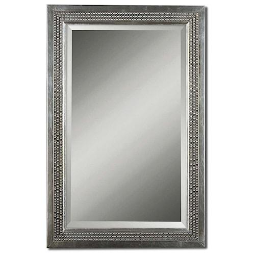 Uttermost Mirrors Triple Beaded, Vanity Mirror