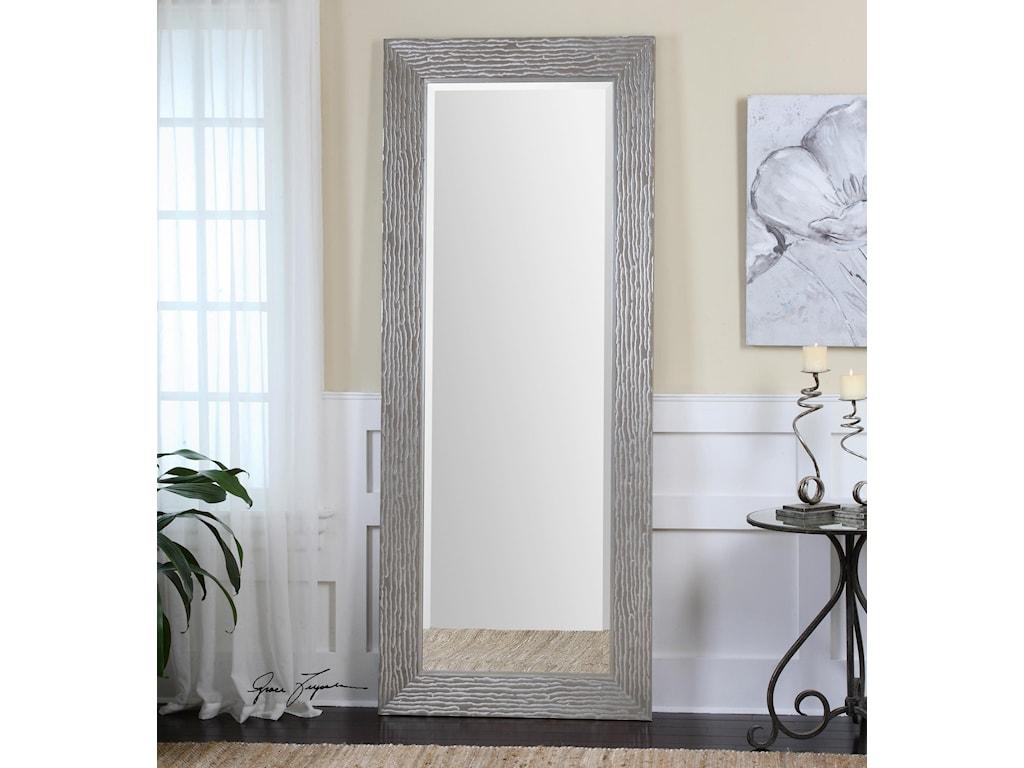 Uttermost MirrorsAmadeus Large Silver Mirror