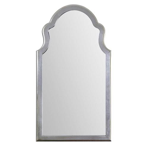 Uttermost Mirrors Brayden Arched Silver Mirror