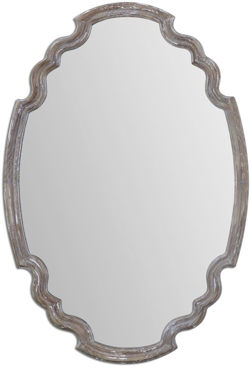 Uttermost Mirrors Ludovica Aged Wood Mirror