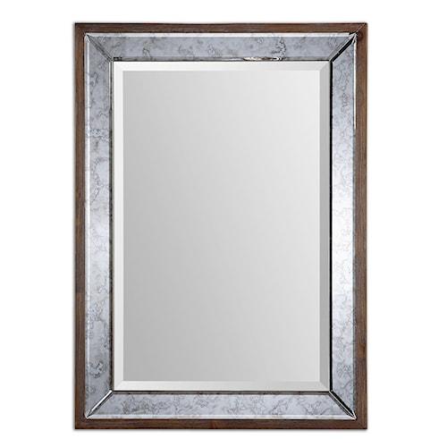 Uttermost Mirrors Daria Antique Framed Mirror