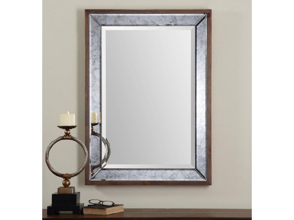 Uttermost MirrorsDaria Antique Framed Mirror