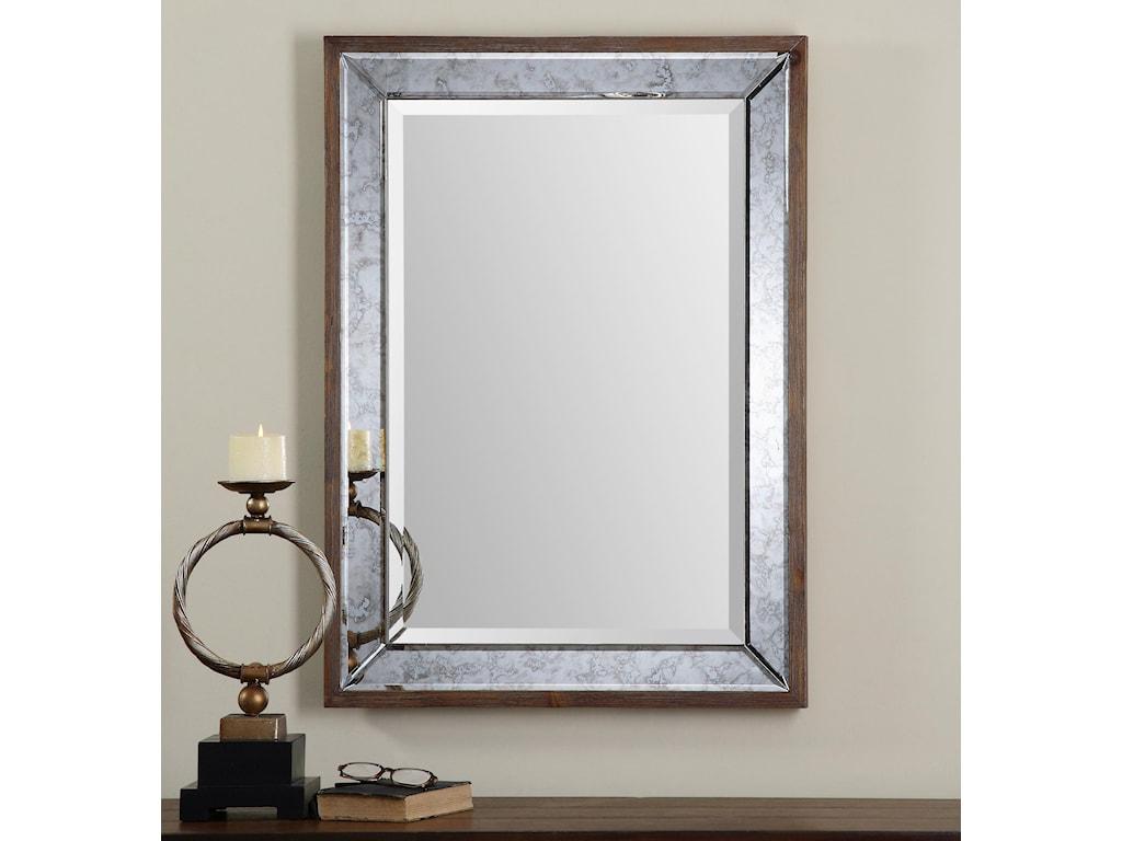 Uttermost MirrorsDaria Antique Framed Mirror