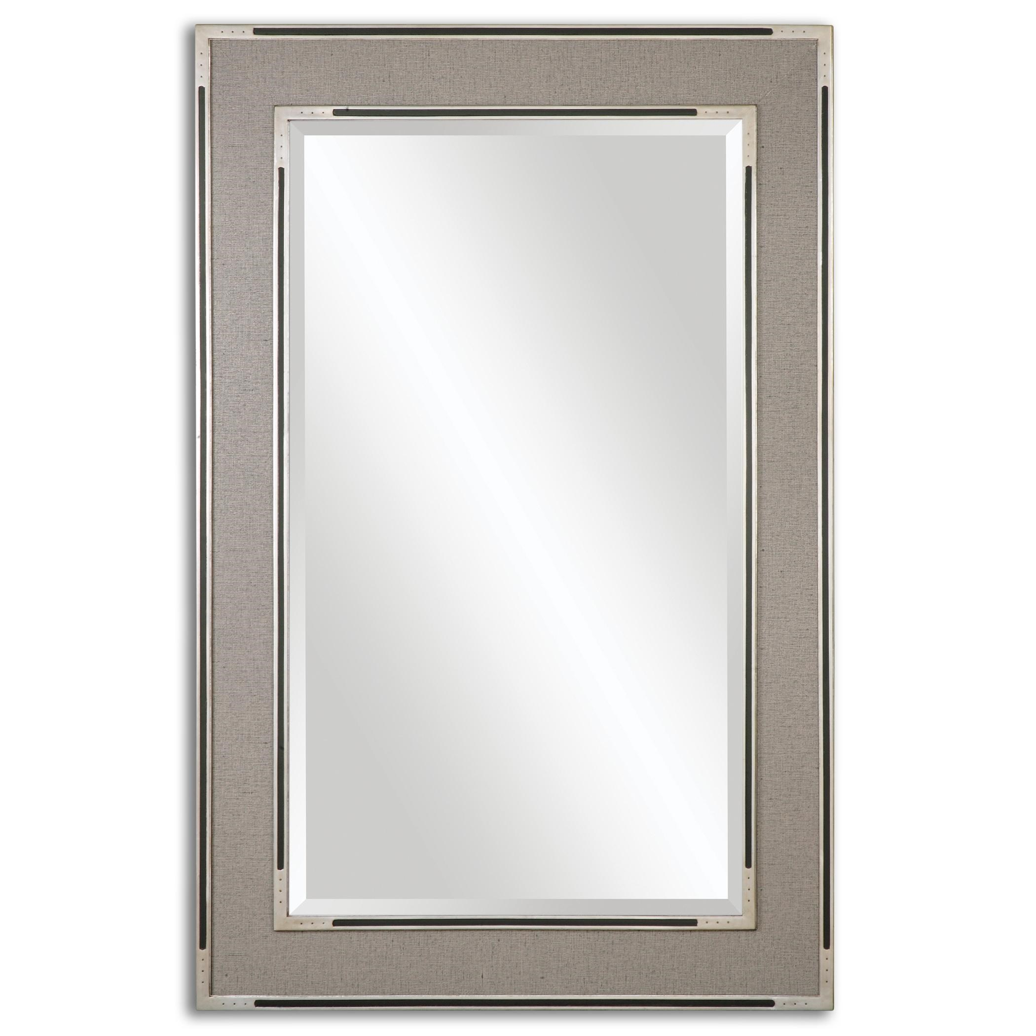 Uttermost Mirrors Alfred Oversized Gray Tan Mirror | Miskelly Furniture |  Wall Mirrors