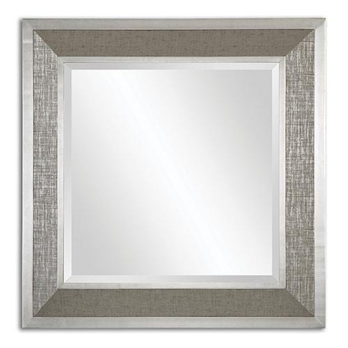 Uttermost Mirrors Naevius Metallic Square